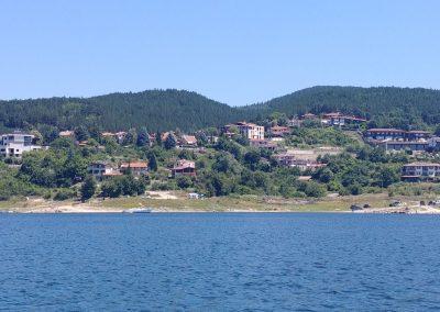 Glavatartsi village view from the Dam